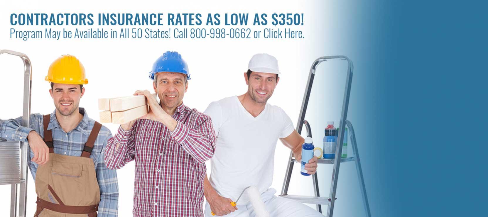 Contractors Insurance Ohio