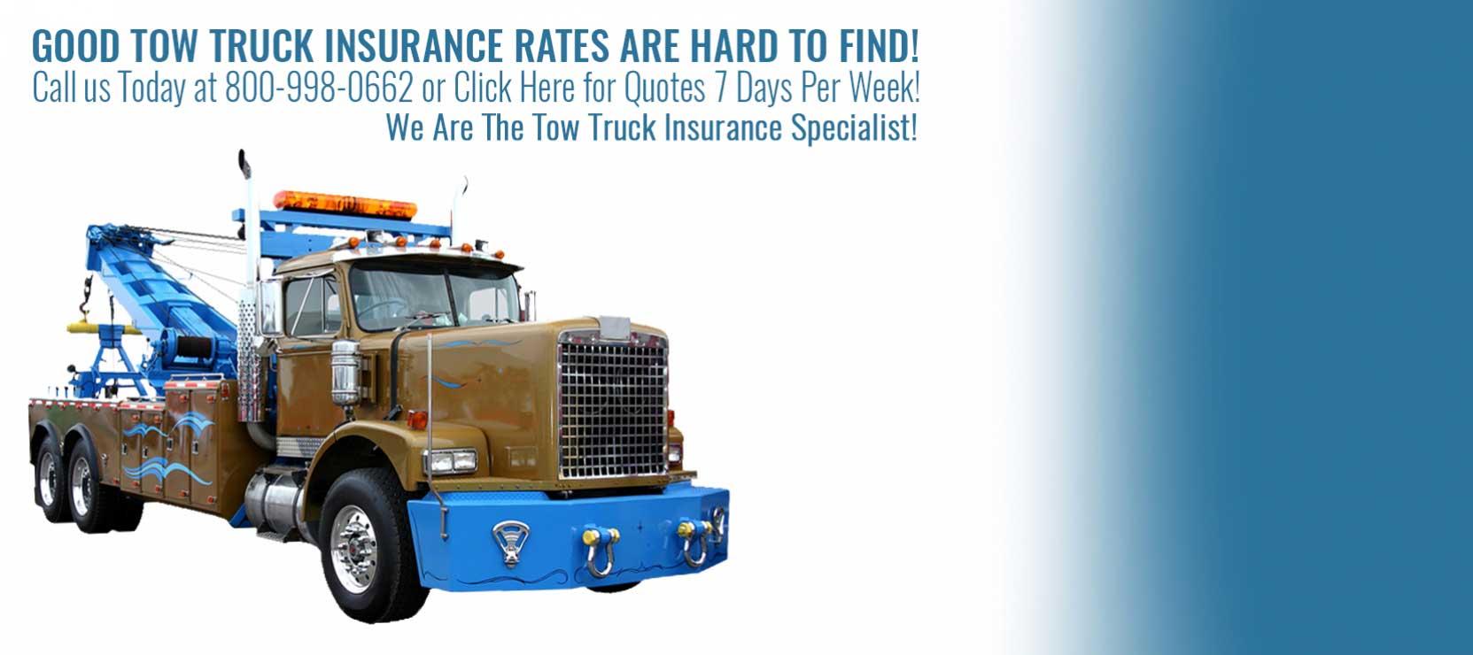 Tow Truck Insurance Ohio